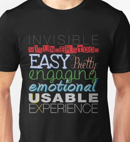 What is UX? #2 Unisex T-Shirt