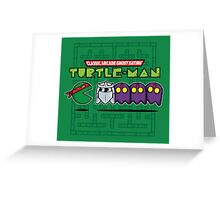 Hero in a Pac-Shell (Raph) Greeting Card