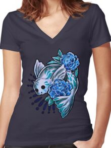 Dewgong  Women's Fitted V-Neck T-Shirt