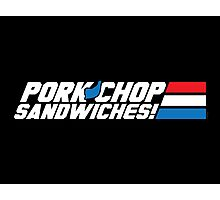Pork Chop Sandwiches! Photographic Print