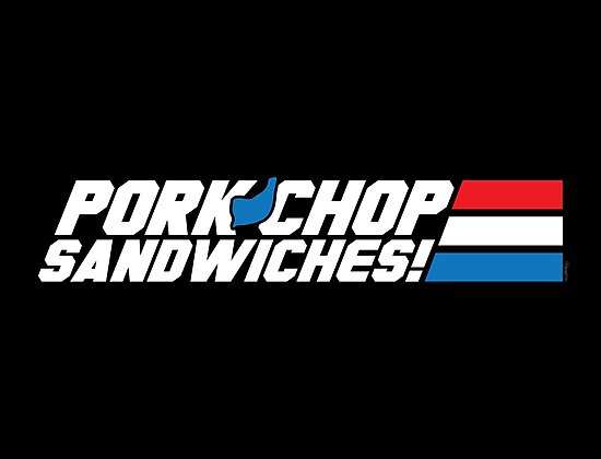 Pork Chop Sandwiches! by mikehandyart