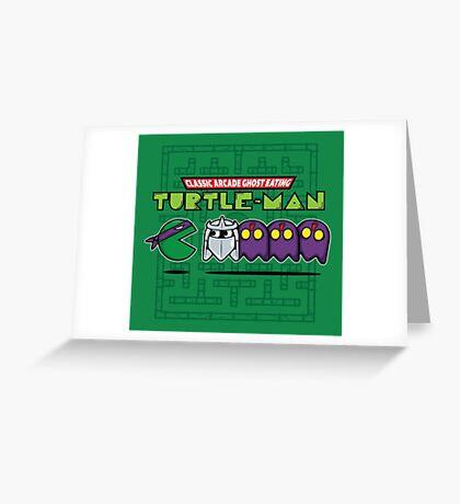 Hero in a Waka Waka Shell (Purple) Greeting Card