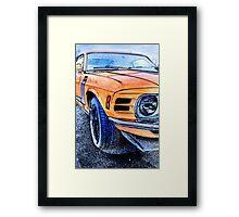 Boss 302 Framed Print
