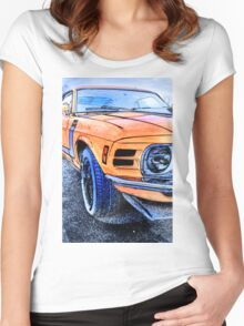 Boss 302 Women's Fitted Scoop T-Shirt