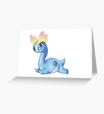 Pokemon - Amaura cute Greeting Card