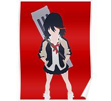 Kill La Kill Ryuko Minimalism Poster