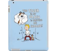 The Tiger in My Brain iPad Case/Skin