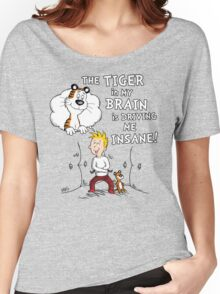 The Tiger in My Brain Women's Relaxed Fit T-Shirt
