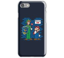 Your Princess is in Another Castle iPhone Case/Skin