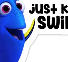 Dory Just Keep Swimming Sticker