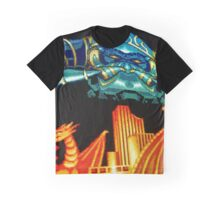Forgotten Worlds scanline pixel art Graphic T-Shirt