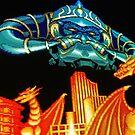 Forgotten Worlds scanline pixel art by smurfted