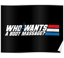 Who Wants a Body Massage? Poster
