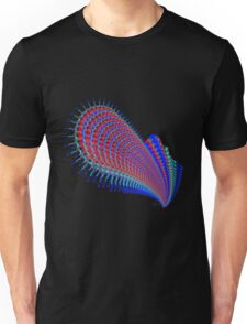 Guitar Abstract Fractal 102516 Unisex T-Shirt