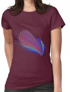 Guitar Abstract Fractal 102516 Womens Fitted T-Shirt