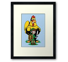 The Legend of Ernie (LIGHT SHIRTS and STICKERS) Framed Print