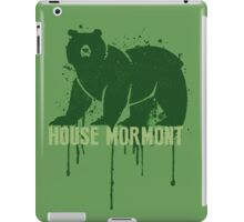 Mormont House Game of Thrones Shirt iPad Case/Skin