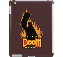 This is My Doom Hand iPad Case/Skin