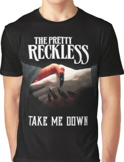 The pretty Rckless Take Me Down Album Cover Graphic T-Shirt
