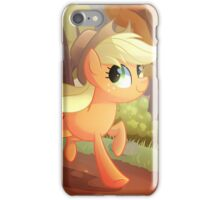 Applejack- Running Of The Leaves iPhone Case/Skin
