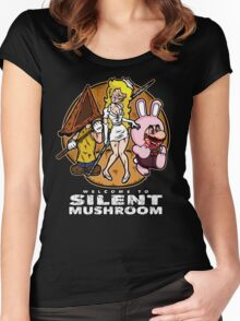 Silent Mushroom Women's Fitted Scoop T-Shirt