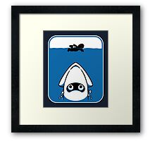 The Great White Blooper Framed Print