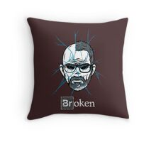 Broken Throw Pillow