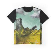 Alpha Zedd Teal Graphic T-Shirt