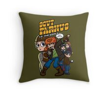 Scut Farkus vs. The World Throw Pillow