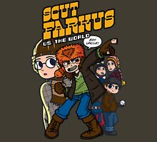 Scut Farkus vs. The World Unisex T-Shirt