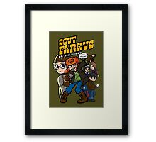 Scut Farkus vs. The World Framed Print