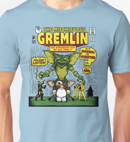 The Mischievous Gremlin Unisex T-Shirt