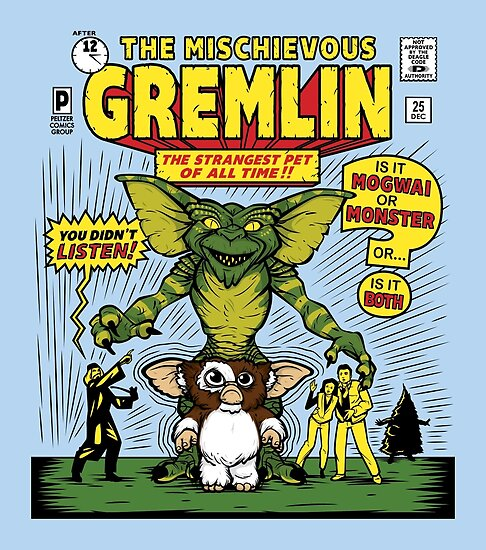 The Mischievous Gremlin by mikehandyart