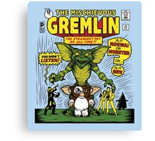 The Mischievous Gremlin Canvas Print