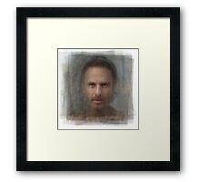 Rick Grimes, the Walking Dead Framed Print
