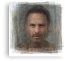 Rick Grimes, the Walking Dead Canvas Print