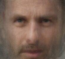 Rick Grimes, the Walking Dead Sticker
