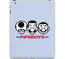 Pipe Boys iPad Case/Skin