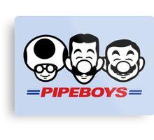 Pipe Boys Metal Print