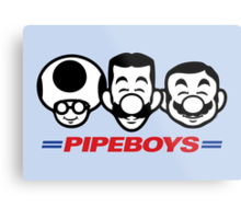 Pipe Boys Metal Print