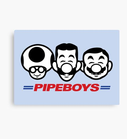 Pipe Boys Canvas Print
