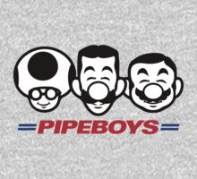 Pipe Boys One Piece - Long Sleeve