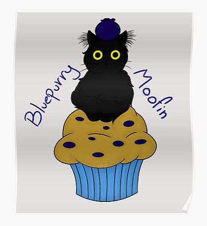 Bluepurry Moofin Poster