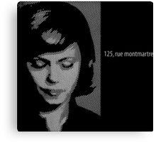 125, rue montmartre - 125, rue montmartre (2000) Canvas Print