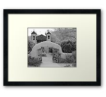 The Mission Church, Santuario de Chimayo, Chimayo, New Mexico Framed Print