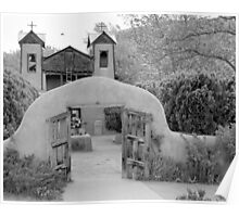 The Mission Church, Santuario de Chimayo, Chimayo, New Mexico Poster