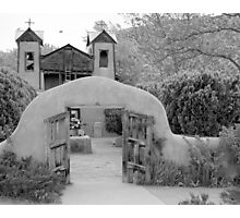 The Mission Church, Santuario de Chimayo, Chimayo, New Mexico Photographic Print