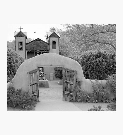 The Mission Church, Santuario de Chimayo, Chimayo, New Mexico Photographic Print
