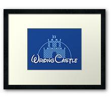 Wrong Castle Framed Print
