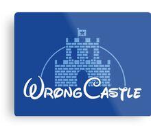 Wrong Castle Metal Print